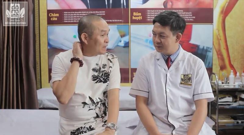Nghệ sĩ Xuân Hinh điều trị khỏi bệnh thoát hóa đốt sống tại nhà thuốc Đỗ Minh Đường